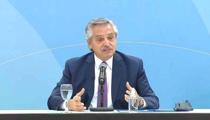 El presidente Alberto Fernández encabezó el lanzamiento del plan Casa Propia-Casa Activa