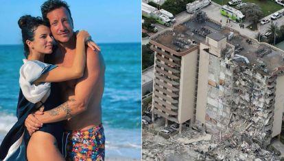 """Desgarrador audio de Nico Vázquez tras el derrumbe en Miami: """"Estamos en shock"""""""