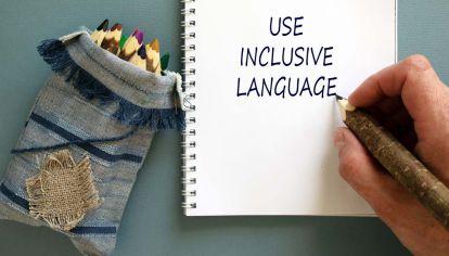 Lenguaje inclusivo.