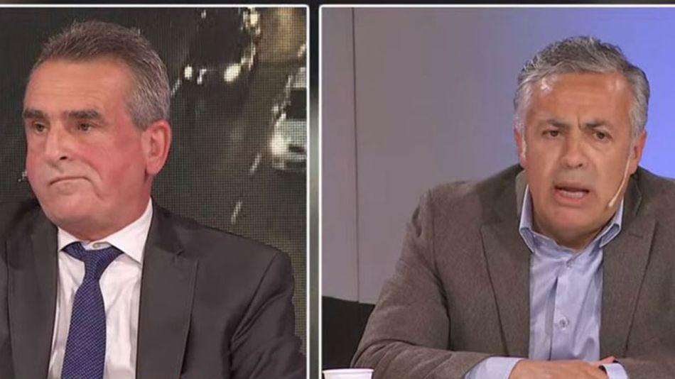 fuerte cruce entre Alfredo Cornejo y Agustín Rossi por la pandemia 20210624