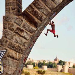El Puente de Salamanca presentó un escenario perfecto a los competidores.