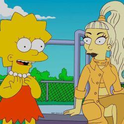 Lisa Simpson y Lady Gaga en un capítulo inolvidable.