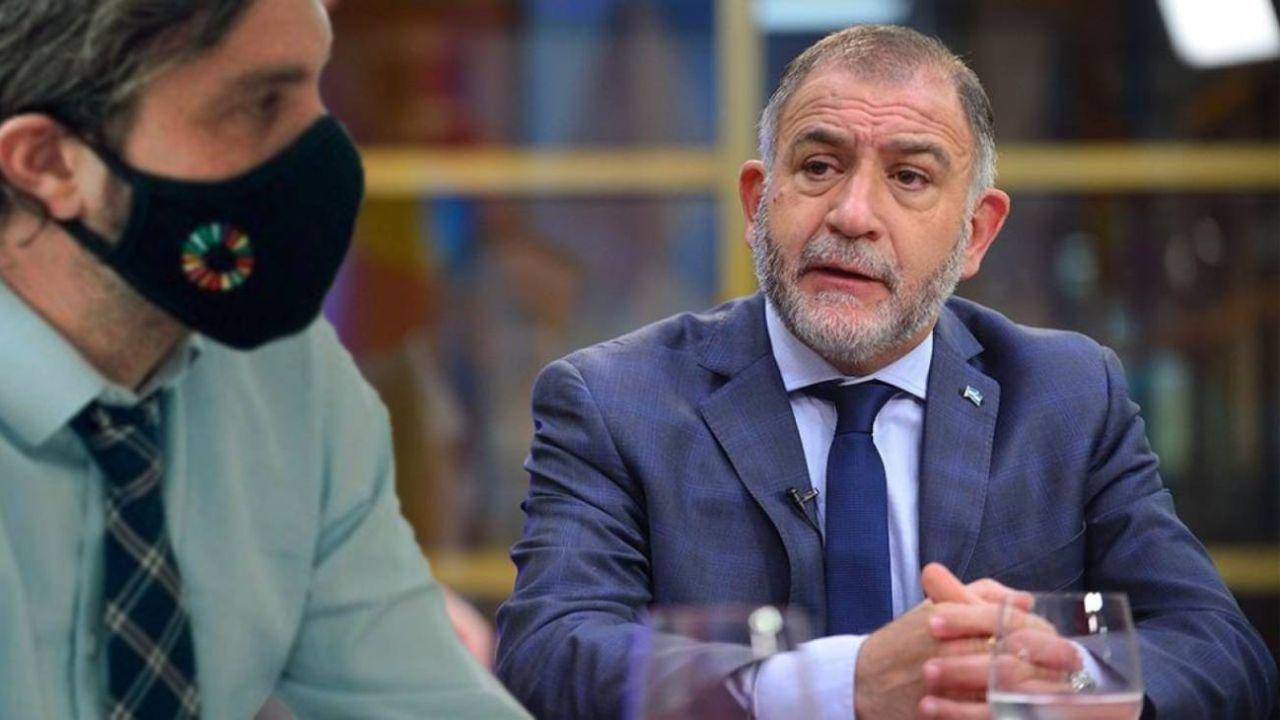 Luis Juez apuntó contra Cafiero.    Foto:CEDOC