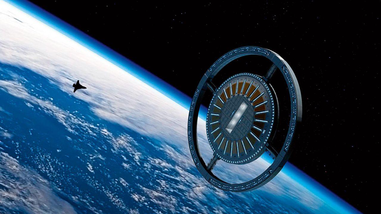 Anillo central de la estación Voyager. | Foto:Gentileza Orbital Assembly
