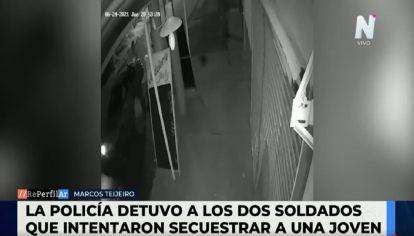 Intento de secuestro en La Plata