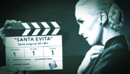 """La """"Santa Evita"""" de Natalia Oreiro."""