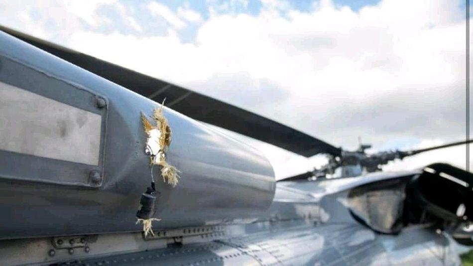 Varios disparos impactaron contra el helicóptero de Iván Duque.