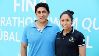UNIDOS. Claudio y Cecilia pasaron de todo desde el 2008 en los roles de entrenador y deportista, respectivamente.