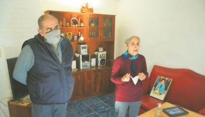 LUIS Y ROSA MORENO. Pasan los años y siguen aferrados a la memoria de David y a un único deseo de verdad y justicia.