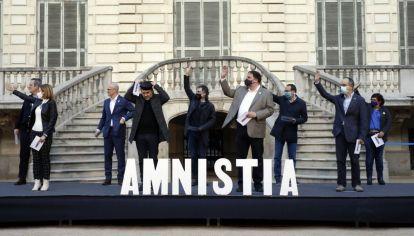 El Cataluña piden ley de amnistía.