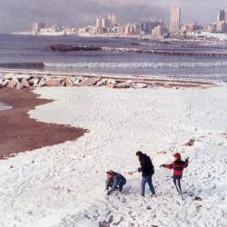 La última vez que nevó en La Feliz fue el 1 de agosto de 1991.