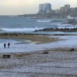 El SMN no descarta la caída de granizo y nieve para las próximas jornadas en La Feliz.