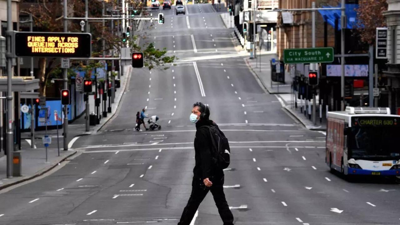 Nuevo cierre en la capital australiana.  | Foto:AFP