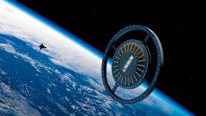 Anillo central de la estación Voyager.