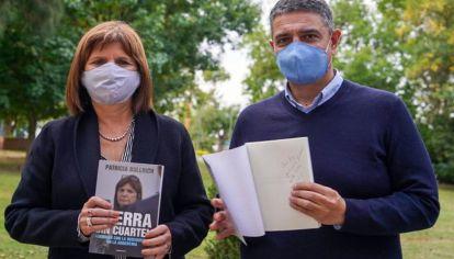 Patricia Bullrich y Jorge Macri