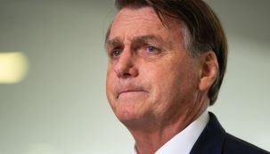 President Bolsonaro Holds Press Conference After Firing Military Chiefs And Defense Head