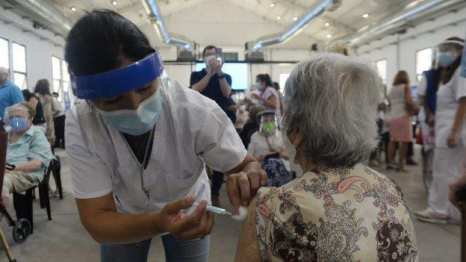 Vacunatorio La Rural, en Rosario