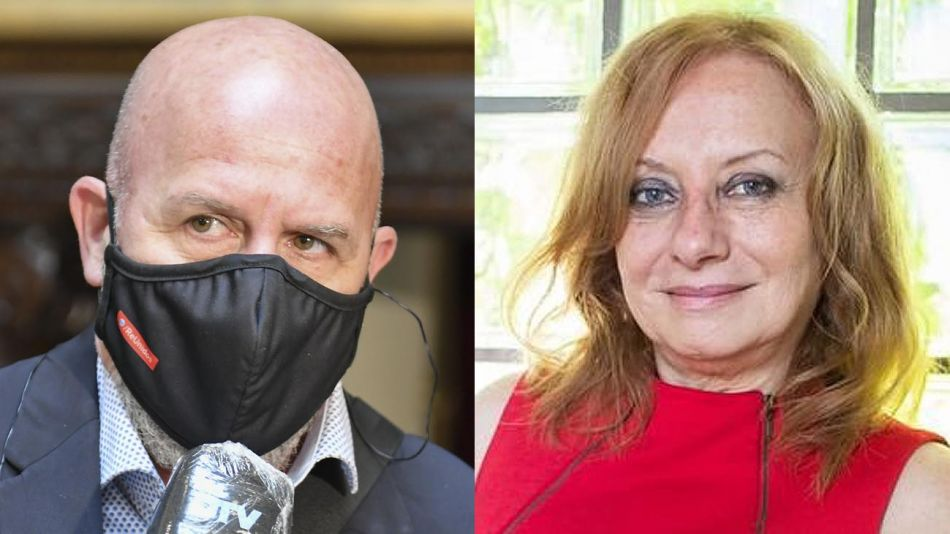 Waldo Wolff y Miriam Lewin 20210629