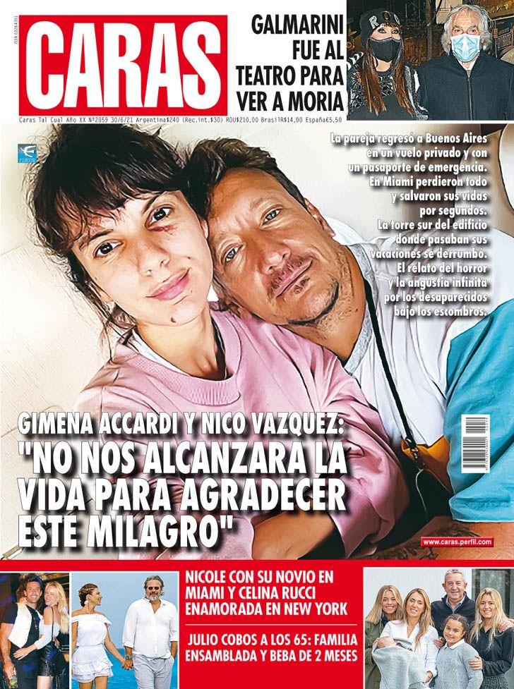 """Gimena Accardi y Nico Vázquez: """"No nos alcanzará la vida para agradecer este milagro"""""""