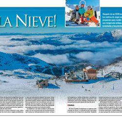 Les mostramos cómo se están preparando los centros de esquí para recibir a los visitantes de todo el país.