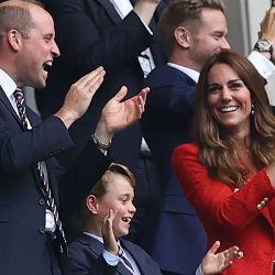 Kate con chaqueta de Zara.