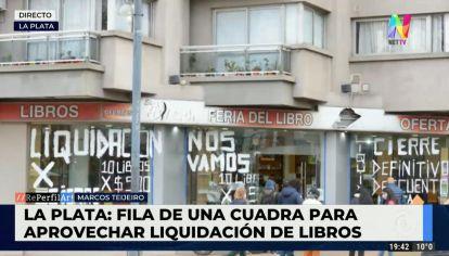 La emblemática librería Aleph de La Plata cerrará sus puertas