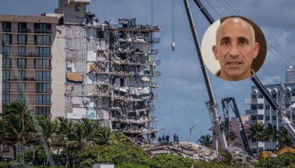 La Champlain Tower South se derrumbó el jueves 24 de junio de 2021, en Surfside (Miami).