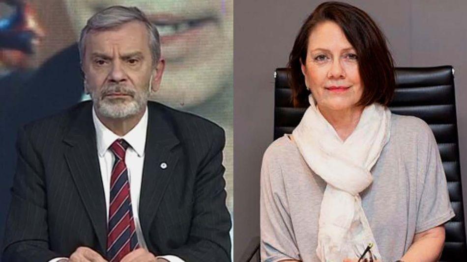 Antonio Fernández Llorente y Sandra Russo-20210630