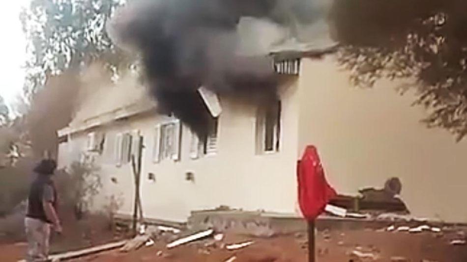 Explosión Escuela San Roque 20210630