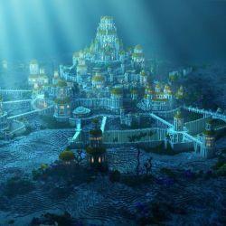 Según Platón, una catástrofe provocó el hundimiento de la isla Atlántida que fue borrada de todos los mapas,