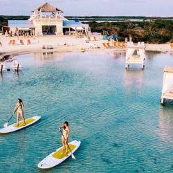 Mahogany Bay Resort and Beach Club en San Pedro, Belice.