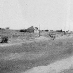 Las primeras casas que se levantaron cerca de la costa.