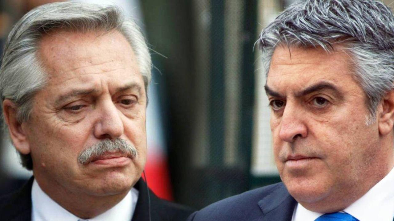 Alberto Fernández y Gregorio Dalbón.    Foto:CEDOC