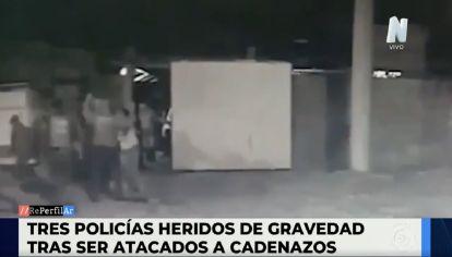 Córdoba - Dos policías fueron heridos cuando desarticulaban una fiesta clandestina