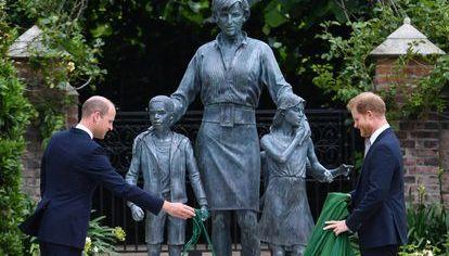 Estatua de Lady Di