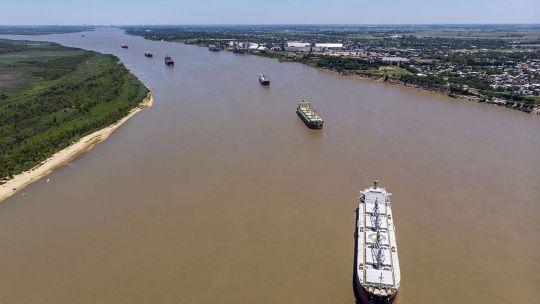 Hidrovía del río Paraná 20210701