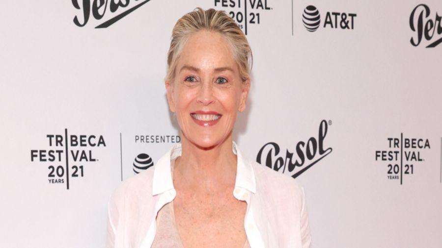 Casi sin maquillaje. Así brilló Sharon la semana pasada como jurado del Festival de cine de Tribeca, en Nueva York.