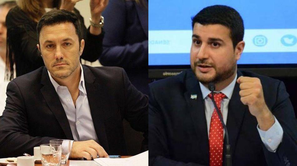 diputados Luis Petri y Marcos Cleri 20210701