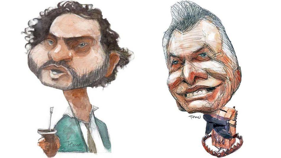 Santiago Cafiero y Mauricio Macri, por Pablo Temes