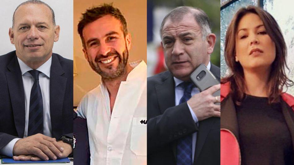 Sergio Berni, Luque (médico de Maradona), Luis Juez y Úrsula Vargués 20210701