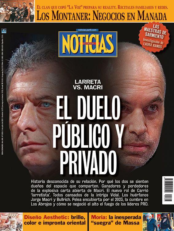 Tapa Nº 2323: Larreta vs. Macri, elduelo publico y privado | Foto:Pablo Temes