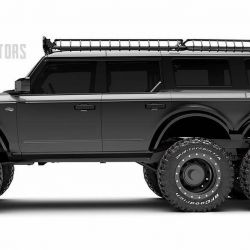 Obviamente, lo primero que salta a la vista son los enormes neumáticos agregados por Maxlider Brothers Customs.