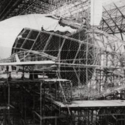 El Zeppelin LZ1 medía 129 metros de largo y 12 metros de diámetro.