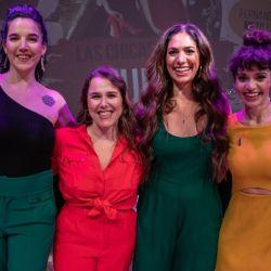 Natalia Carulias, Malena Guinzburg, Connie Ballarini y Fernanda Metilli, culposas e hilarantes.
