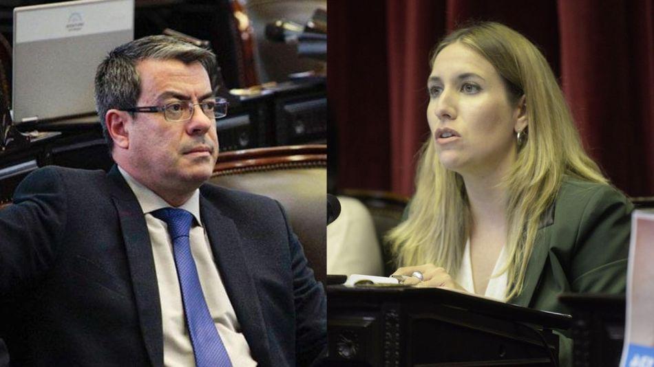diputados Jimena Latorre y Germán Martínez 20210702