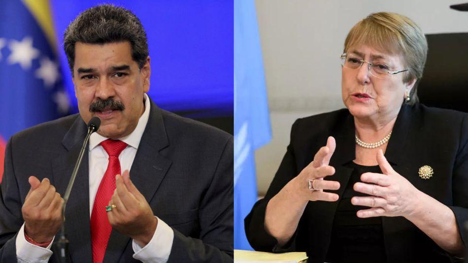 Maduro y Bachelet 20210702