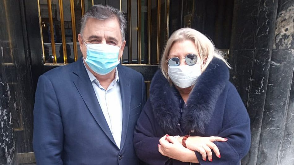 Mario Negri y Elisa Carrió fueron de los principales críticos en torno a la negociación con Pfizer.