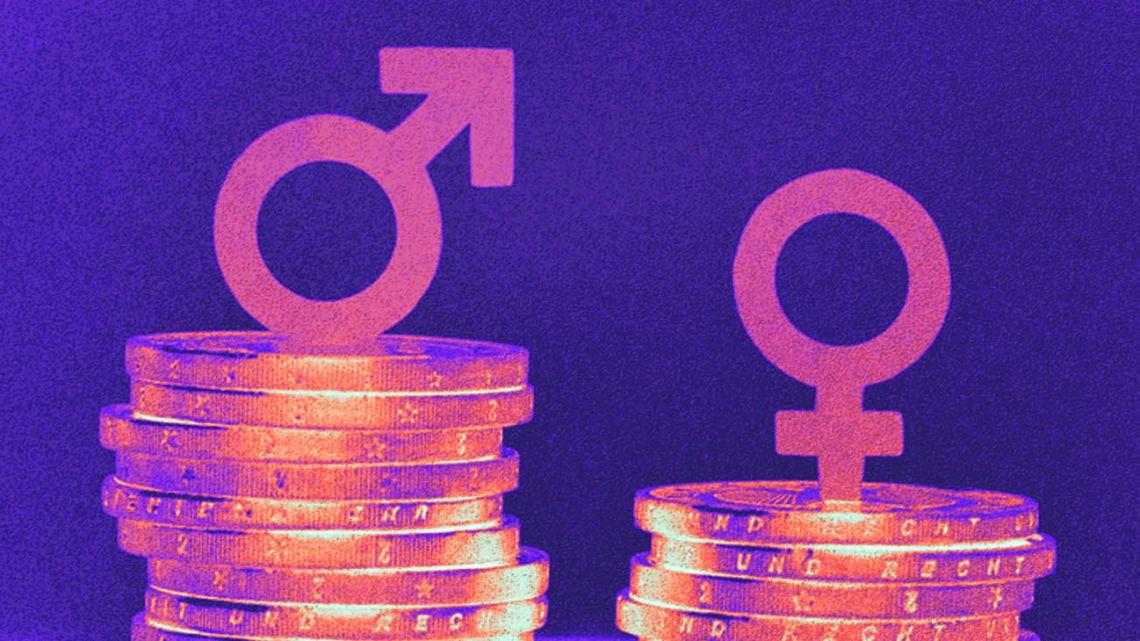 Gender pay gap.