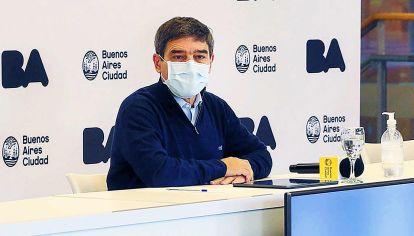 Viernes. Fernán Quirós hizo el anuncio en conferencia de prensa.