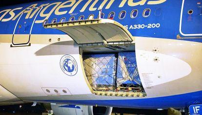 Aerolíneas. Ayer salió el primer avión rumbo a Beijing.